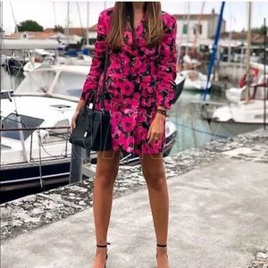 Gigi Floral Blazer Dress